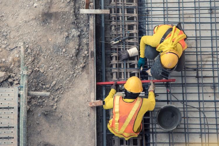 آرماتوربندی از مهمترین مراحل اجرای ساختمان