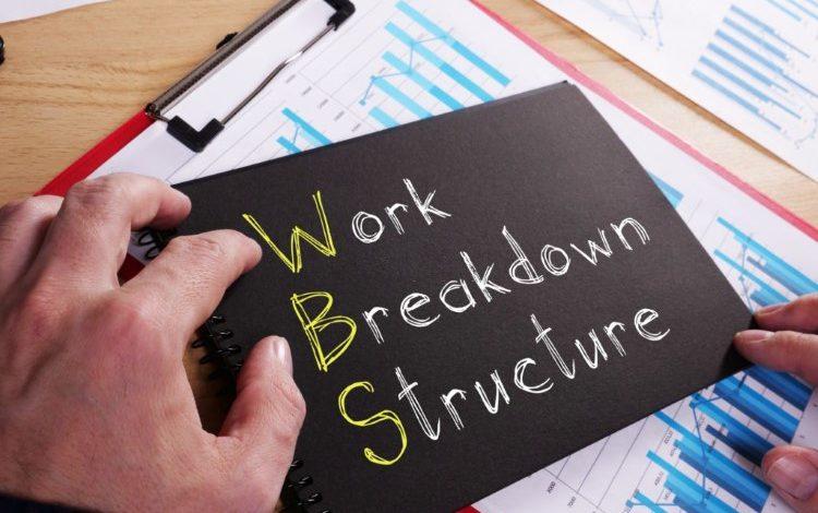 تهیه ساختار شکست کار در اکسل (1)